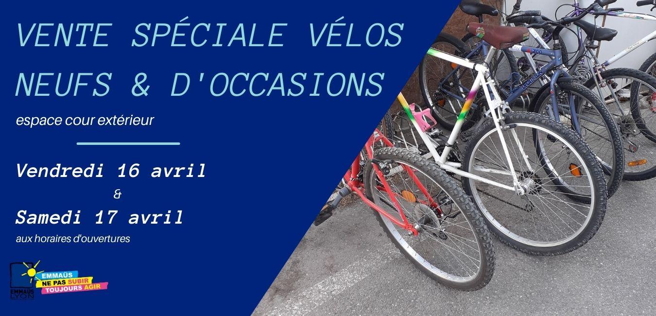 Vente spéciale vélos